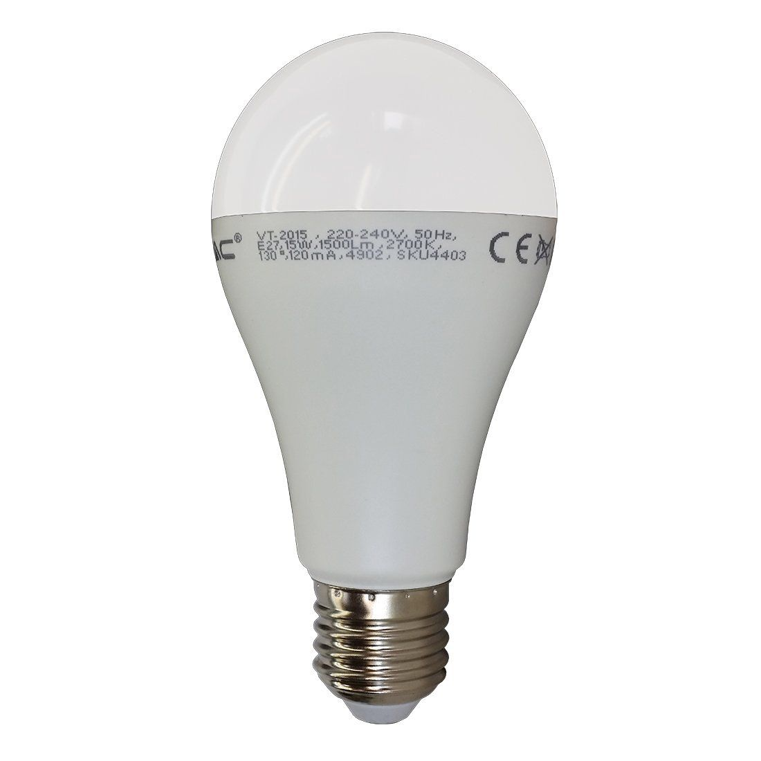 100w equivalent led bulb e27 classic gls globe warm white v tac. Black Bedroom Furniture Sets. Home Design Ideas