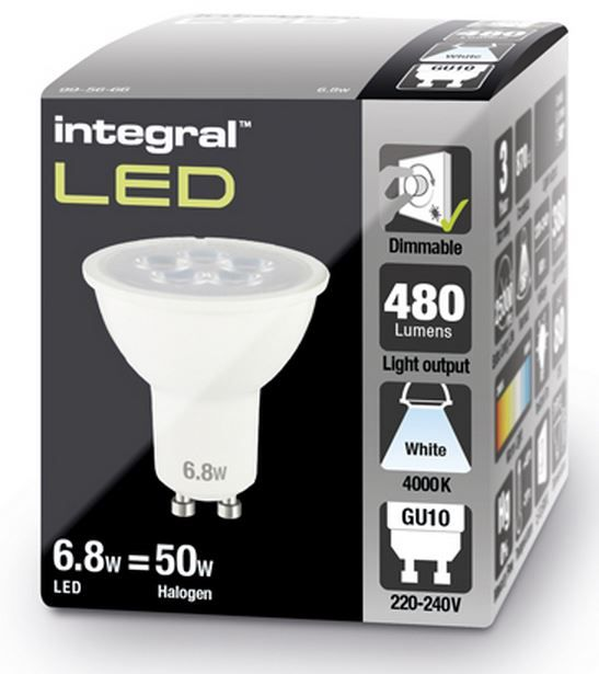 Dimmable Gu10 Led Spotlight Bulb 50 60w Equivalent 480