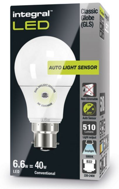 Dusk To Dawn Bulbs Daylight Sensor Lamp Led 40 60w