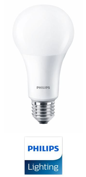 philips 100w equivalent led bulb 15w e27 edison screw dimmable. Black Bedroom Furniture Sets. Home Design Ideas
