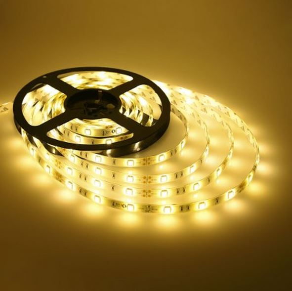 Led strip lights 12v warm white 36w 5 meter waterproof ip65 dimmable aloadofball Image collections